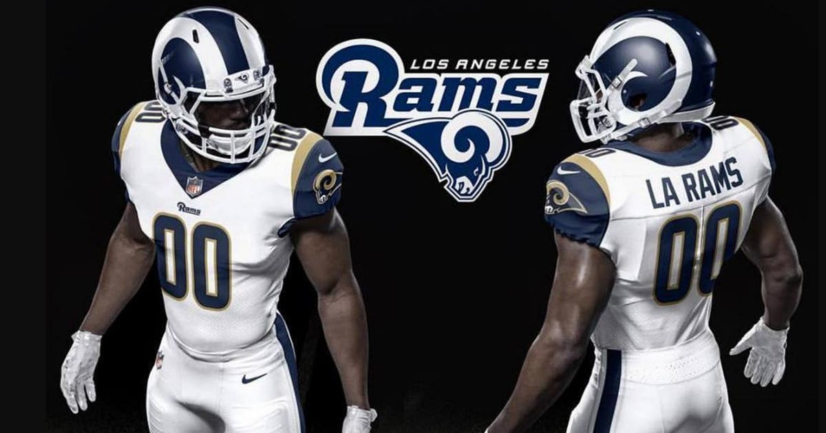 bc397eae23d See the full uniform changes the Los Angeles Rams are making for 2017