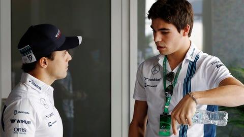 Felipe Massa (L) and Lance Stroll (R) will race for Williams in 2017. (Photo: Glenn Dunbar/LAT Photographic)