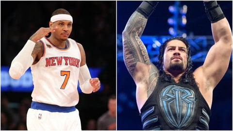 Carmelo Anthony — Roman Reigns