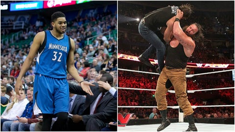 Karl-Anthony Towns — Braun Strowman