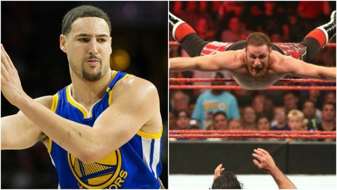 Klay Thompson — Sami Zayn