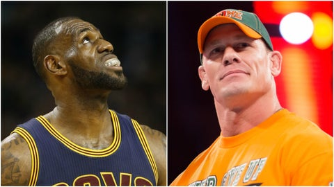 LeBron James — John Cena