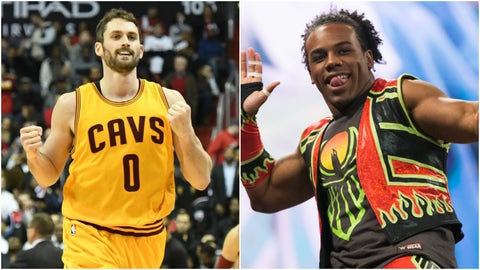 Kevin Love — Xavier Woods