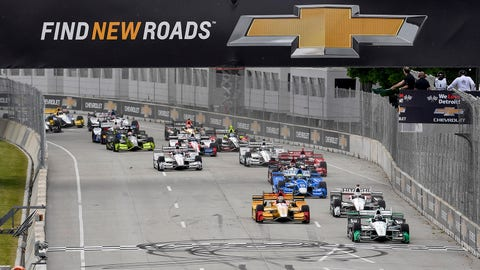 Chevrolet Detroit Grand Prix Race 1 - The Raceway at Belle Isle Park