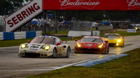 Starting lineup for the 12 Hours of Sebring