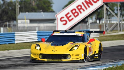 5. No. 3 Corvette Racing Corvette C7.R - GTLM