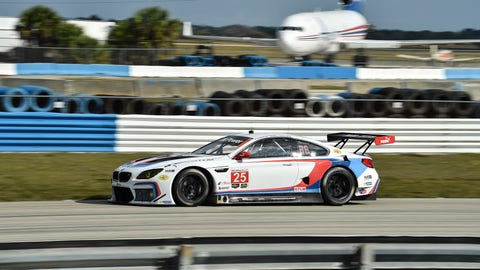 9. No. 25 BMW Team RLL BMW M6 GTLM - GTLM