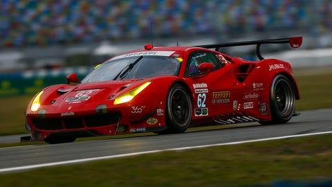 10. No. 62 Risi Competizione Ferrari 488 GTE - GTLM