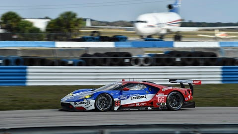 2. No. 66 Ford Chip Ganassi Racing Ford GT - GTLM