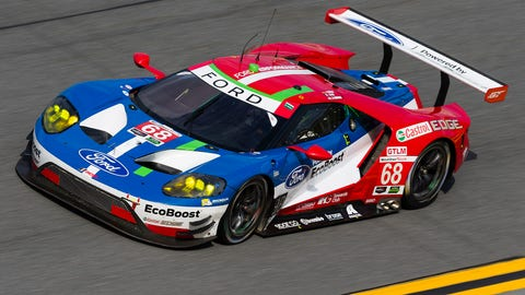 6. No. 68 Ford Chip Ganassi Team UK Ford GT - GTLM