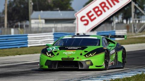 9. No. 11 GRT Grasser Racing Team Lamborghini Huracan GT3 - GTD