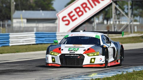 15. No. 23 Alex Job Racing Audi R8 LMS GT3 - GTD