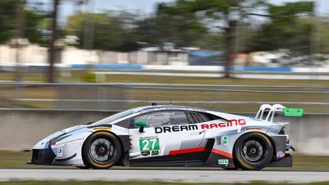 21. No. 27 Dream Racing Motorsport Lamborghini Huracan GT3 - GTD