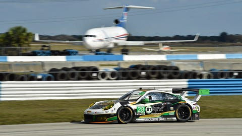 12. No. 28 Alegra Motorsports Porsche 911 GT3 R - GTD