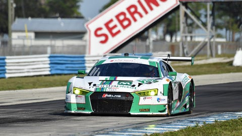 2. No. 29 Montaplast by Land-Motorsport Audi R8 LMS GT3 - GTD