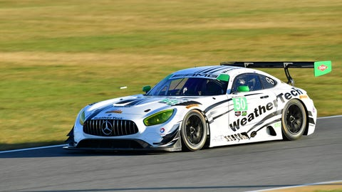 8. No. 50 Riley Motorsports - WeatherTech Racing Mercedes-AMG GT3 - GTD