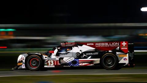 1. No. 13 Rebellion Racing ORECA - P