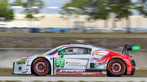 6. No. 57 Stevenson Motorsports Audi R8 LMS GT3 - GTD