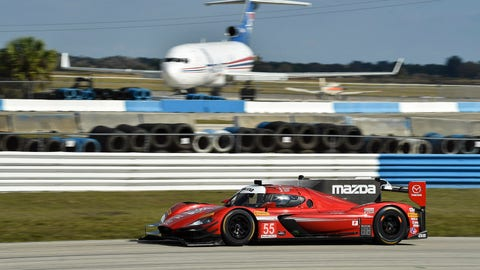 8. No. 55 Mazda Motorsports Mazda DPi - P