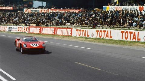 Podium at Le Mans