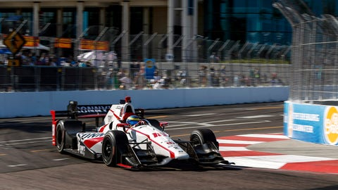 Sebastien Bourdais won Sunday's GP of St. Pete after starting dead last on the grid. (Photo:Sam Cobb/LAT Images)