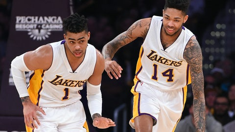 Los Angeles Lakers (Previous ranking: 28)