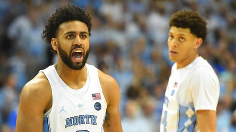 Approx. 4:00, TNT: No. 1 North Carolina vs. No. 16 Texas Southern