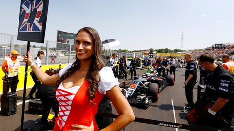 Race time in Hungary