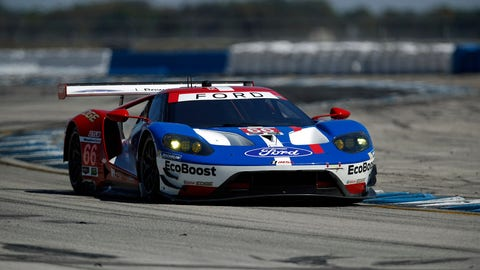 Le Mans, Daytona... can Ford add a win at Sebring this weekend? (Photo: Michael L. Levitt/LAT Images)