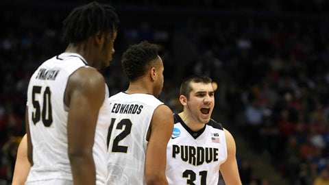 Approx. 9:40, TBS: No. 4 Purdue vs. No. 5 Iowa State