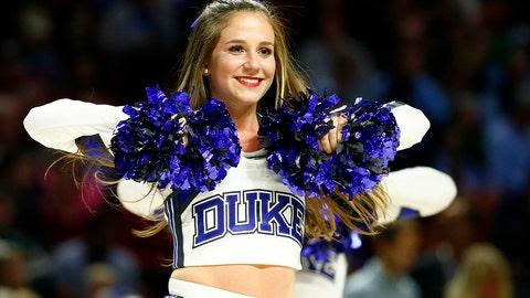 Duke cheerleader