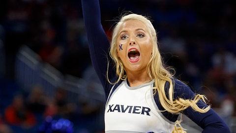Xavier cheerleader