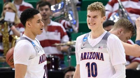 Approx. 10:09, TBS: No. 2 Arizona vs. No. 11 Xavier