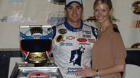 Jimmie Johnson, Fall of 2007