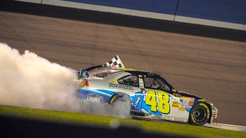 Jimmie Johnson, Fall of 2008