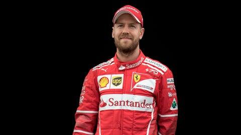 5: Sebastian Vettel/Ferrari