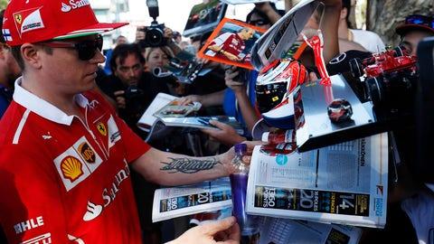 7: Kimi Raikkonen/Ferrari