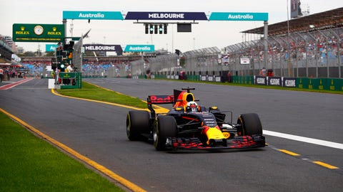 """Daniel Ricciardo insists that Red Bull is """"not too far off"""" the frontrunning pace in Melbourne. (Photo: Sam Bloxham/LAT Images)"""