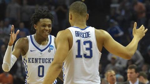 5:05, CBS: No. 1 North Carolina vs. No. 2 Kentucky
