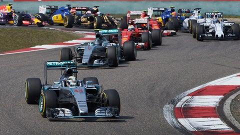 Formula One - China