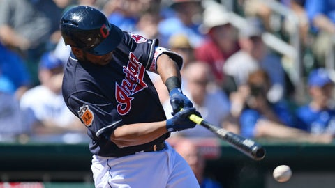 Tribe's Slow Start: Edwin Encarnacion