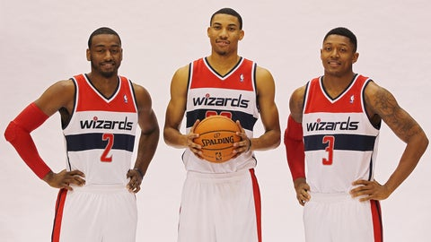 Washington Wizards: John Wall, Bradley Beal, Otto Porter Jr.