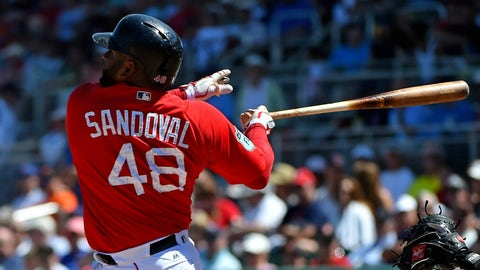 AL Comeback Player: Pablo Sandoval, Red Sox