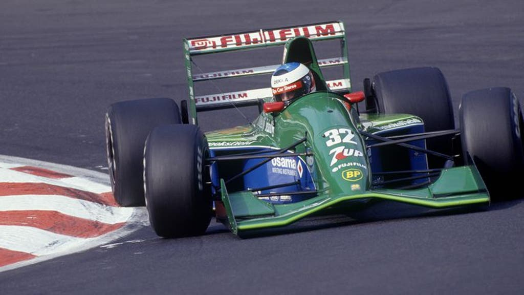 Burst Of Color Gallery Of Jordan F1 Race Cars Fox Sports
