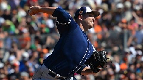 SP Trevor Cahill, Padres