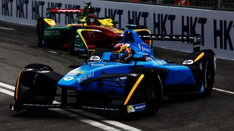 All of the drivers are chasing Sebastien Buemi in the points heading into Saturday's Mexico City ePrix. (Photo: LAT Photographic/FIA Formula E)