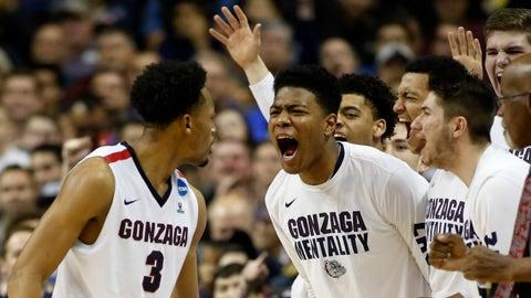 6:09, CBS: No. 1 Gonzaga vs. No. 7 South Carolina