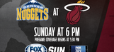 Denver Nuggets at Miami Heat game preview