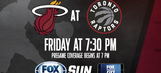 Miami Heat at Toronto Raptors game preview