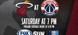 Miami Heat at Washington Wizards game preview